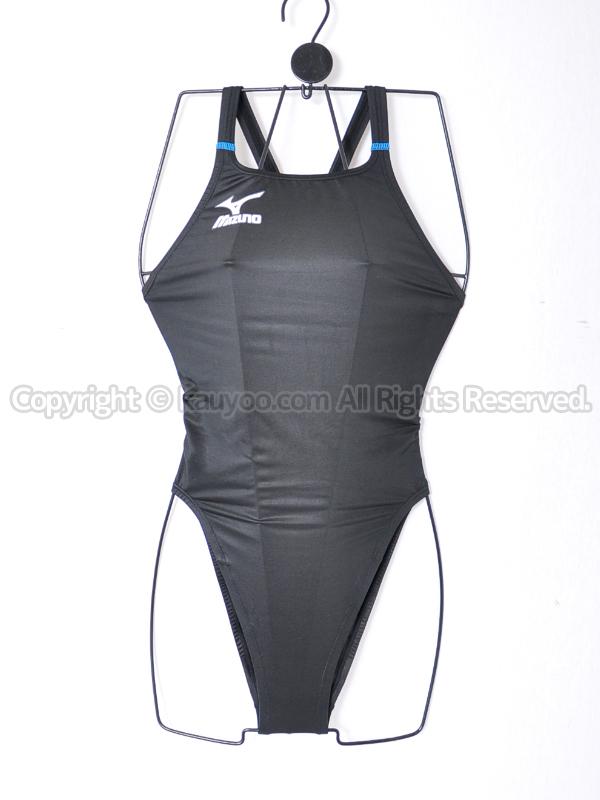 【買取】mizunoマイティライン3ハイカット競泳水着N2JA4221ブラック