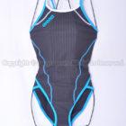 arenaスーパーフライバックSAR-6101WタフスキンDストライプ 練習用競泳水着BGSX
