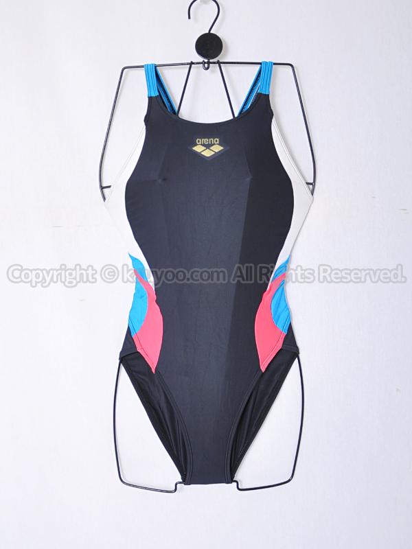 【買取】arenaアリーナSTRUSHストラッシュ切替ARN-4656Wスイムテック21競泳水着