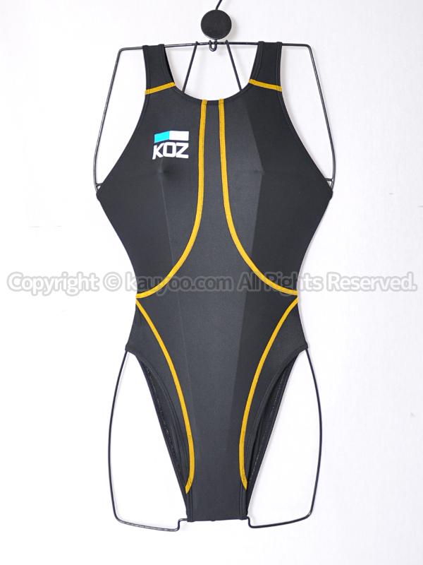 【買取】KOZコーズFina承認ハイカット競泳水着KOZ-1178WHブラック