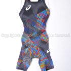 asicsアシックス TOP iMPACT LINE SiN Fina承認スパッツ競泳水着2162A076マルチカラー