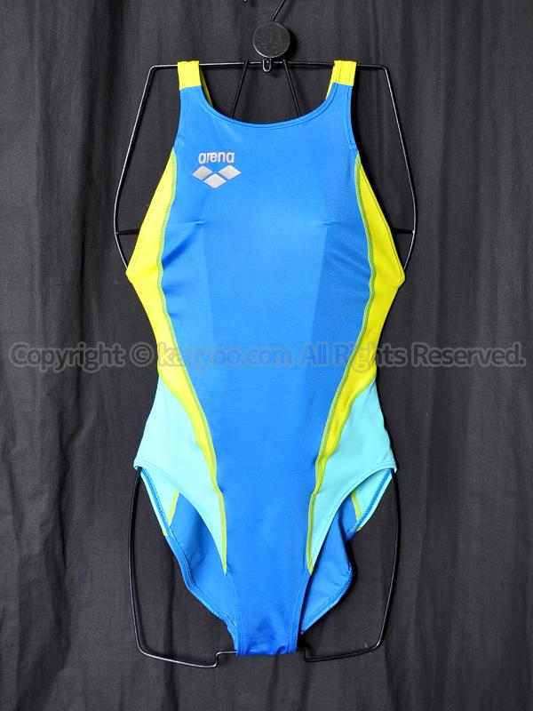 【買取】arenaアリーナ初期NUXニュークスARN-7014WLスイムテック21競泳水着MBKM