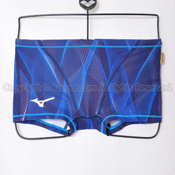 【買取】MIZUNOエクサースーツN2MB006120ショートスパッツ練習用競泳水着オーロラブルー