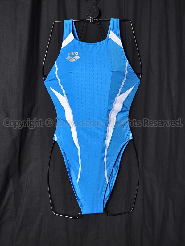 【買取】arenaアリーナX-PYTHONリミックFAR-2507WCハイカット競泳水着ブルーJBLU