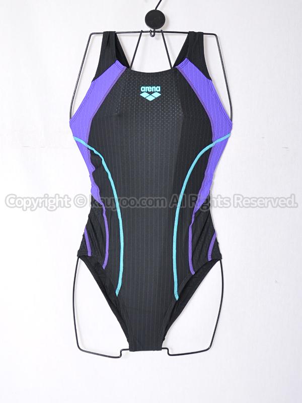 【買取】arenaアリーナAQUA RACING Diamond Flex-ST ミディアムカット競泳水着 ARN-0054W BKPP