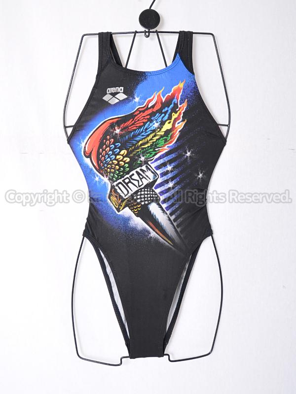 【買取】アリーナX-PYTHON ONE DREAM TENGA1 リミック競泳水着FAR-2510Wマルチ