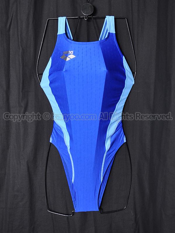 【買取】arenaアリーナnux-fリミックFAR-7512WHハイカット競泳水着RYSX