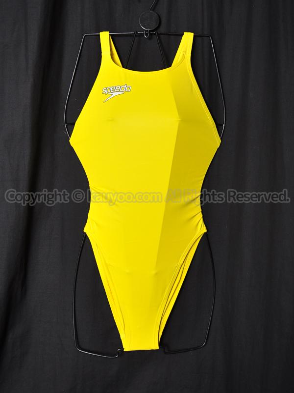 【買取】speedoスピードFastskin XT-Wレースカット競泳水着SD46A02Nイエロー黄