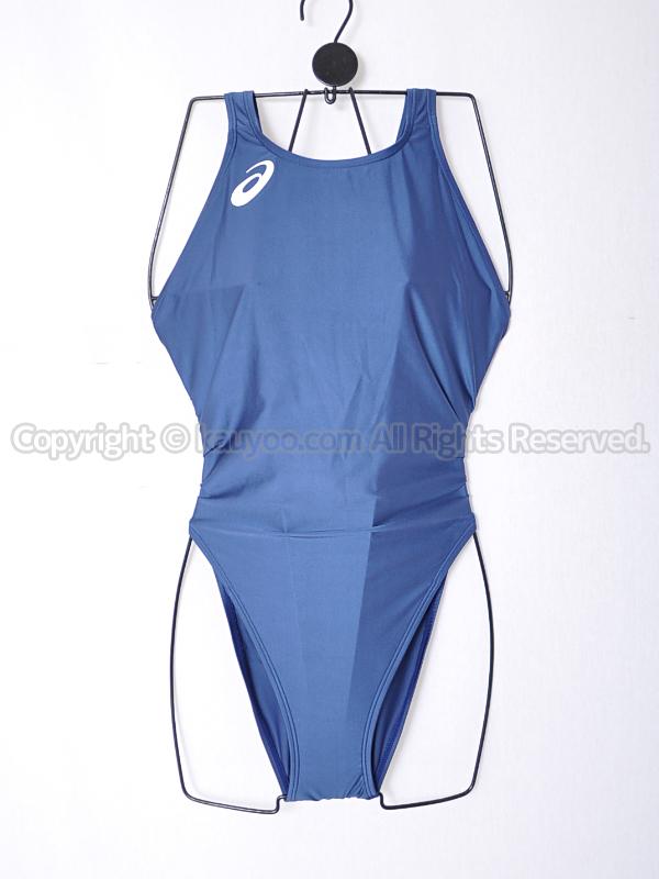 【買取】asicsアシックスALS85TハイドロCDハイカット競泳水着ネイビー紺