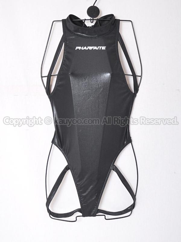【買取】PHARFAITEパルフェット ハイネックバインダー Tバック競泳水着風コス黒