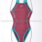 speedoタッチターンズスーツENDURANCE SP練習用競泳水着STW01901ヴァイオレットクォーツ×ルアン