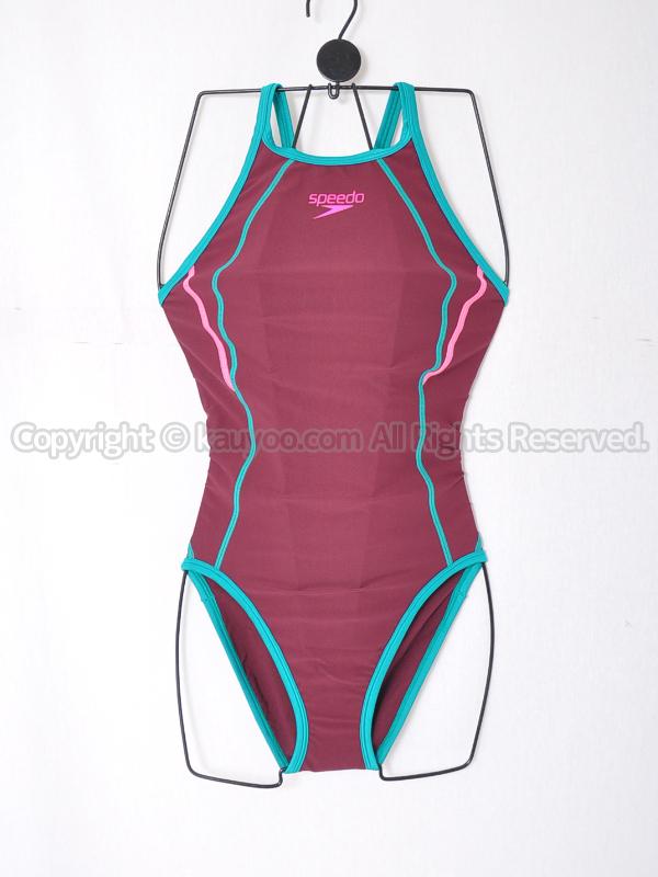 【買取】speedoタッチターンズスーツENDURANCE SP練習用競泳水着STW01901ヴァイオレットクォーツ×ルアン