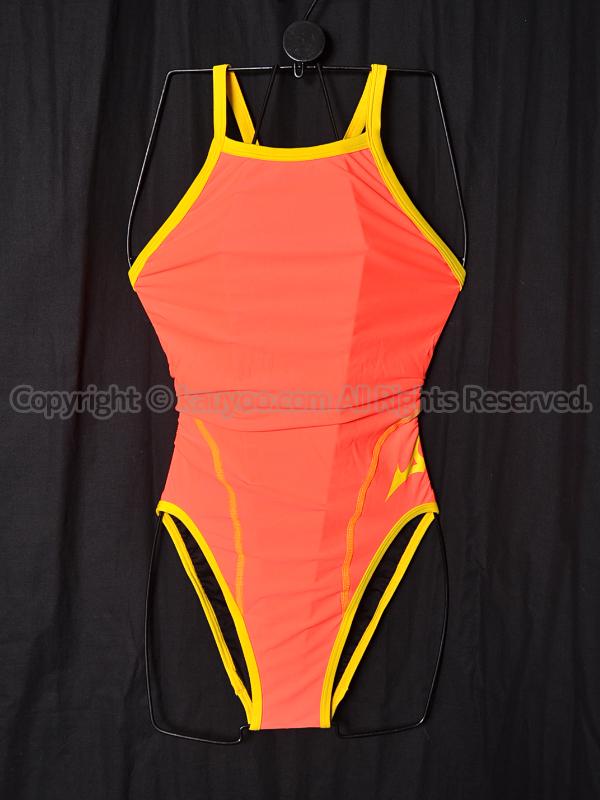 【買取】mizunoエクサースーツ練習用競泳水着N2MA826379ファイアリーコーラル