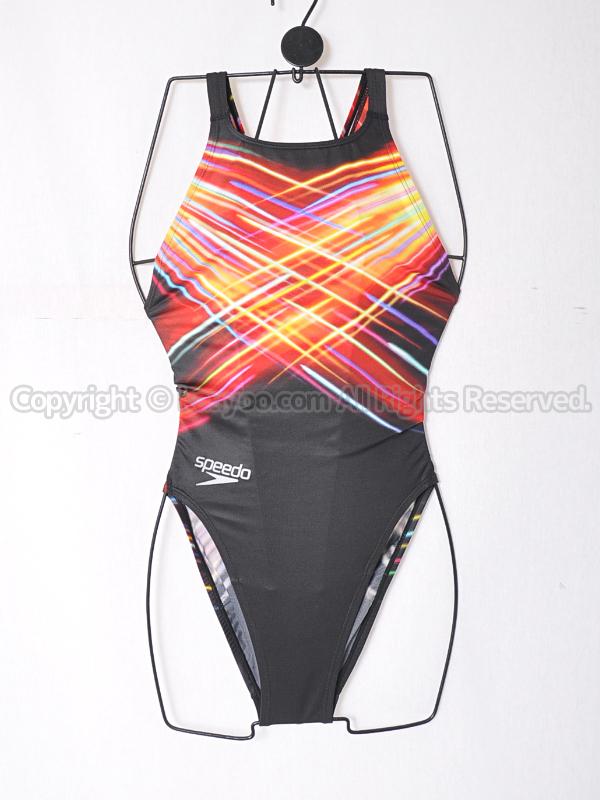 【買取】speedoスピードflyingfishフライングフィッシュSD40B06エイムカット競泳水着レッド