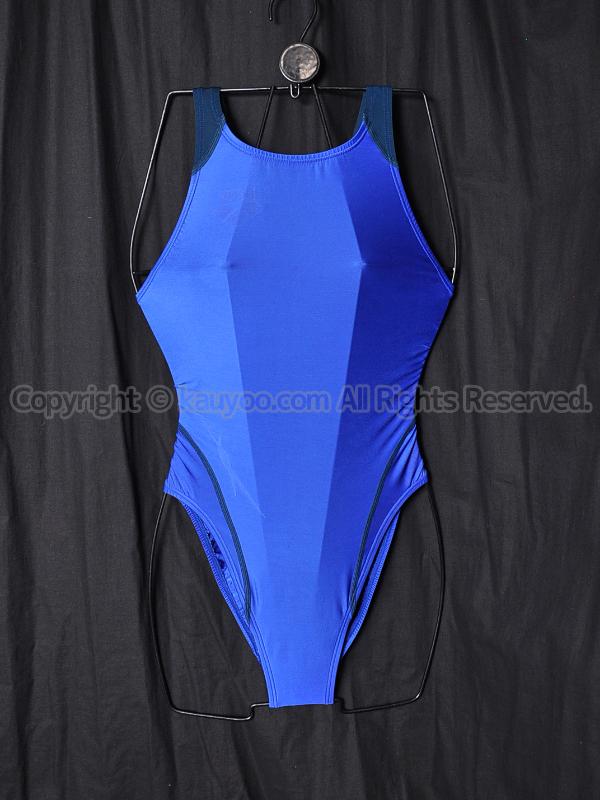 【買取】arenaアリーナnux-Wリミック競泳水着FAR-8515WHブルー