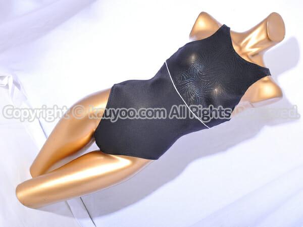 【買取】Chacott チャコット 胸元ラメ装飾 スリーブレス レオタード