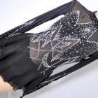 冰火之舞 豪華ラインストーン装飾フィギュアスケートレオタード黒
