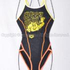 アリーナTOUGHSUITタフスーツSAR-9103Wスーパーフライバック練習用競泳水着BKYO