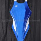 arenaスーパーストリーナARN-7023WストラッシュJ2競泳水着Sブルー×ホワイトSBWH