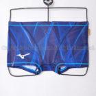 MIZUNOエクサースーツN2MB006120ショートスパッツ練習用競泳水着オーロラブルー
